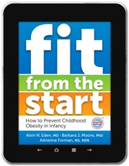 Infant Health book cover design: Fit From the Start