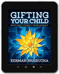 Education Math book cover design: Gifting Your Child