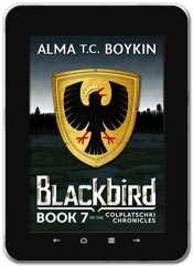 Alternate History book cover design: Blackbird