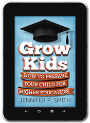 Education and Career Planning book cover design: Grow Kids