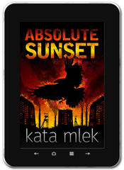 Psychological Thriller book cover design: Absolute Sunset