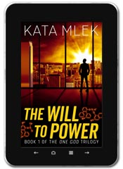 Thriller book cover design: The Will to Power