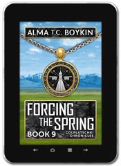Alternate History book cover design: Forcing the Spring