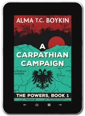 Alternate History book cover design: A Carpathian Campaign